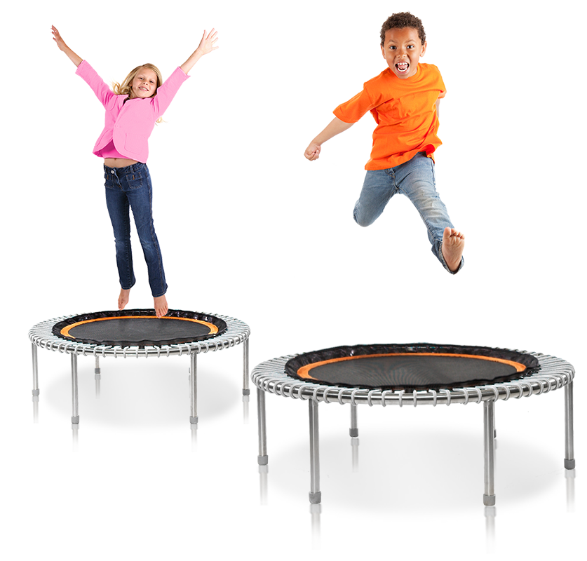 Softbounce And Hardbounce Mini Trampolines: Thrifty Enterprise