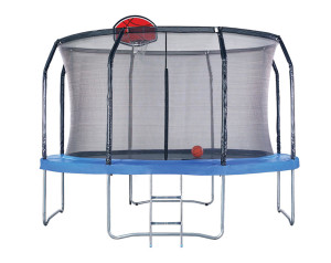 14-Foot Trampoline Combo with basketball hoop (2)